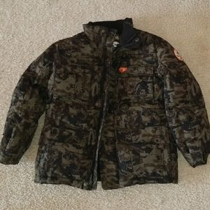 Cherokee camo winter coat size S